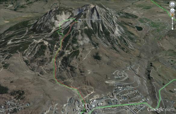 2b. Ski Leg - View 2